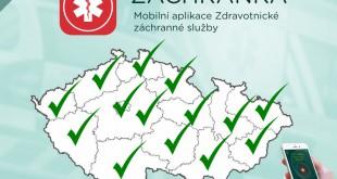 aplikace Zachranka - cela ČR