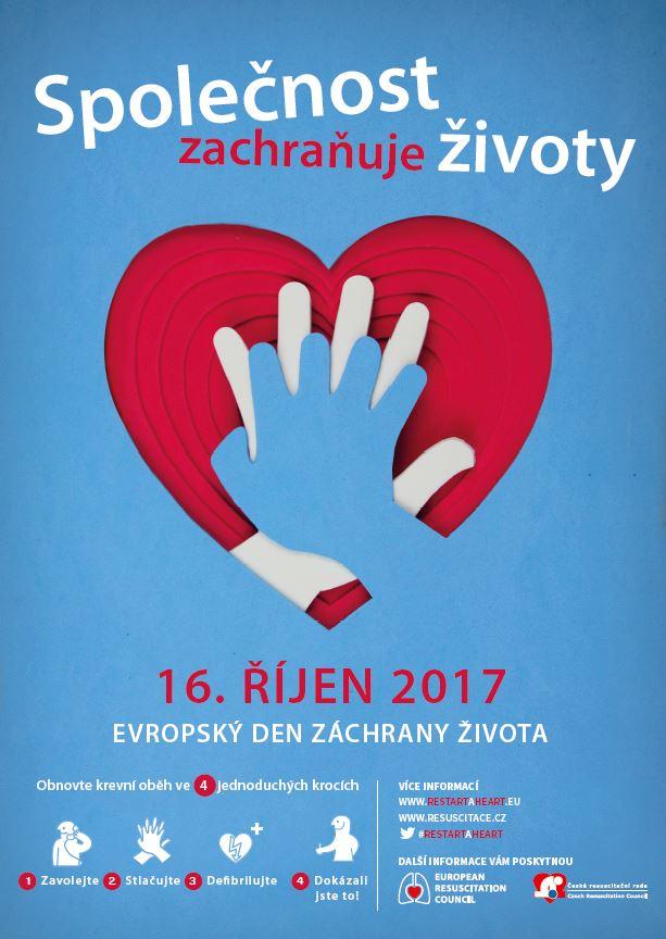 Výstřižek evropsky den záchrany života 2017