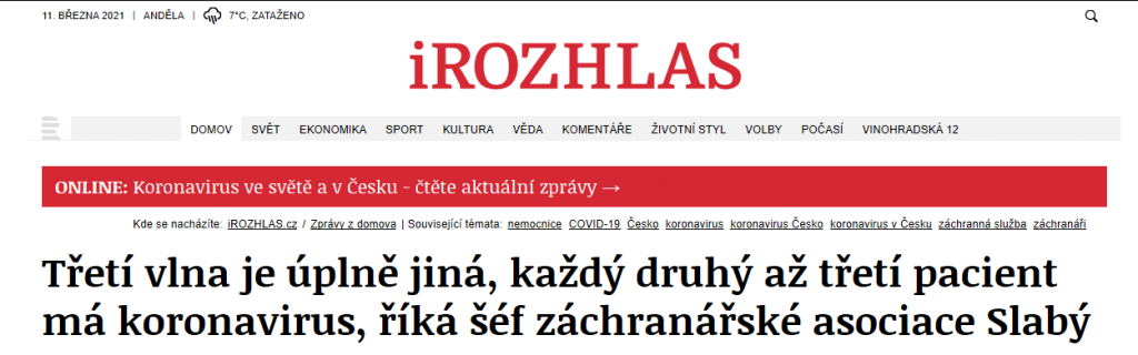 Výstřižek iRozhlas - Marek Slabý