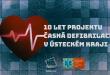 Výstřižek - videospot 10 let projektu Časná defibrilace v UK