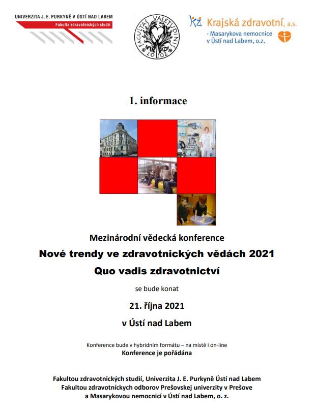 Výstřižek konference UJEP FZS